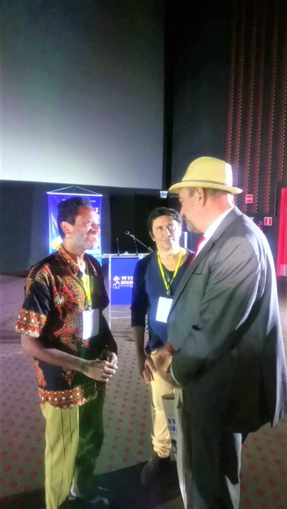 Deputdao Jeová conversou com promotores do Festival - Jeová fala de participação no Fest Aruanda e elogia iniciativa de reconhecer talentos paraibanos