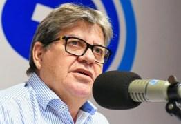 Governador João Azevêdo convoca coletiva nesta segunda para falar da Calvário