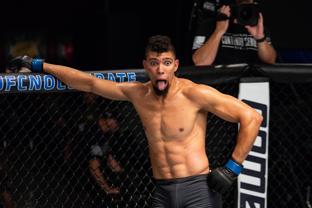 JohnnyWalker Twitter ufcbrasil 1 - UFC: Johnny Walker é escalado e enfrenta Nikita Krylov