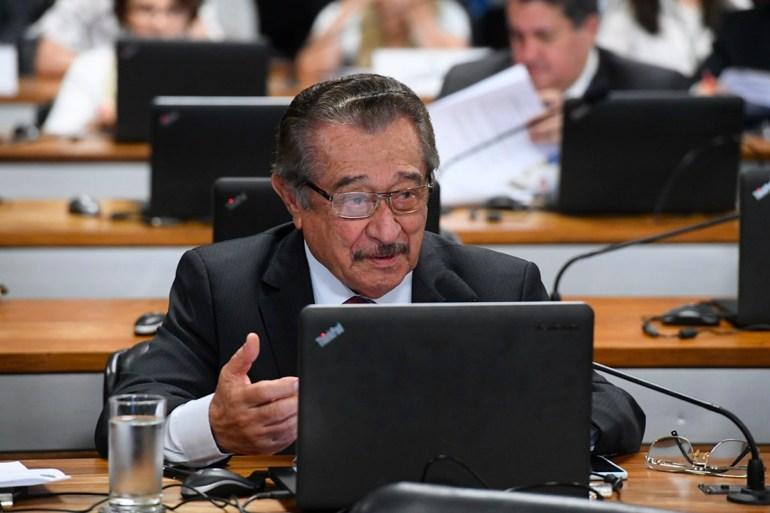 José Maranhão - COVID-19: senador José Maranhão segue estável e respirando espontaneamente, diz boletim