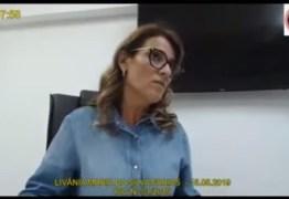 'Chegaram as mangas' era senha para recebimento de propina de Ricardo Coutinho, diz Livânia