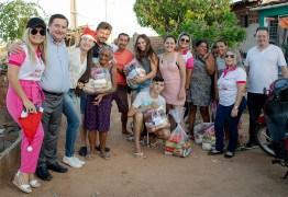 Creci-PB promove Natal Solidário para quase cem famílias carentes de Patos