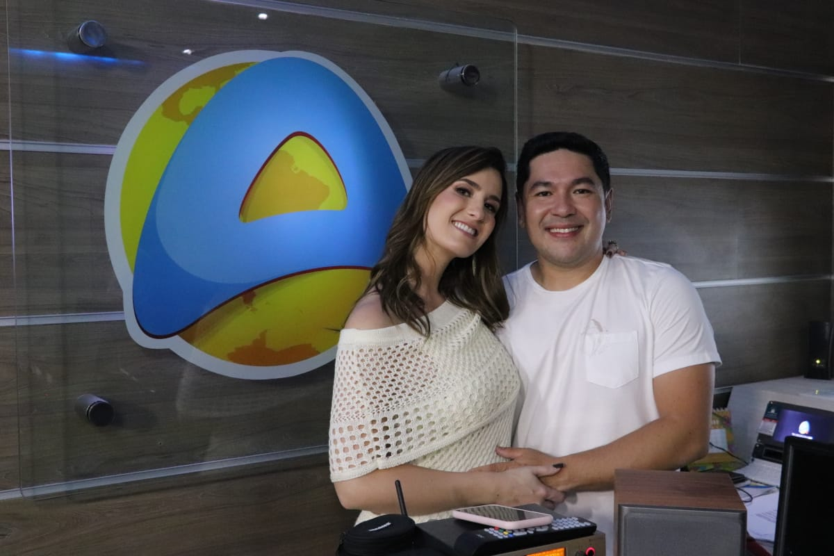 TV ARAPUAN - 'NO A': Patrícia Rocha e Bruno Sakaue revelam data de estreia na TV Arapuan