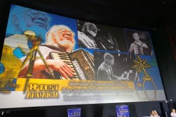 14 Fest Aruanda homenageia Sivuca e critica censura ao cinema brasileiro: 'política de estado que opta pela asfixia do setor cultural' – VEJA VÍDEOS