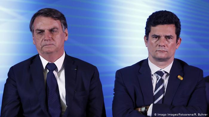 bolsonaro moro - Bolsonaro sanciona pacote anticrime com vetos, mas mantém juiz de garantias
