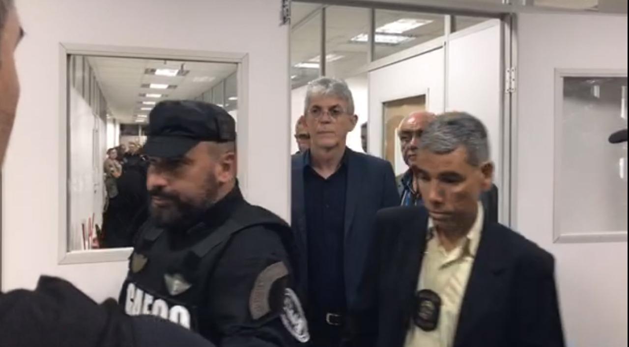 dd48db5e a69f 4de8 87cb 1f78bbf3c23e - AUDIÊNCIA DE CUSTÓDIA: Justiça encaminha ex-governador Ricardo Coutinho para penitenciária de Mangabeira
