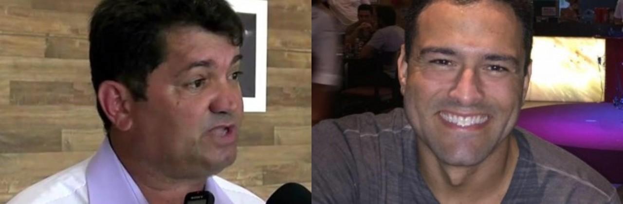 eudes e rougger - Ex-vereador de Cabedelo denuncia advogado de Lucas Santino por obter vantagens indevidas na gestão: 'Esposa e irmã ganham R$5 mil cada' - ENTENDA CASO