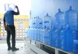 Pesquisa do Procon-CG revela diferença de 43% nos preços do botijão de água