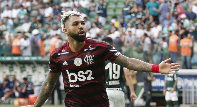 gabigol flamengo palmeiras allianz parque 01122019172343289 - 'VENCER, VENCER, VENCER': Fla faz três gols e atropela o Palmeiras no Allianz