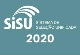 Divulgadas datas para o Sisu 2020.1; PB tem mais de 14 mil vagas