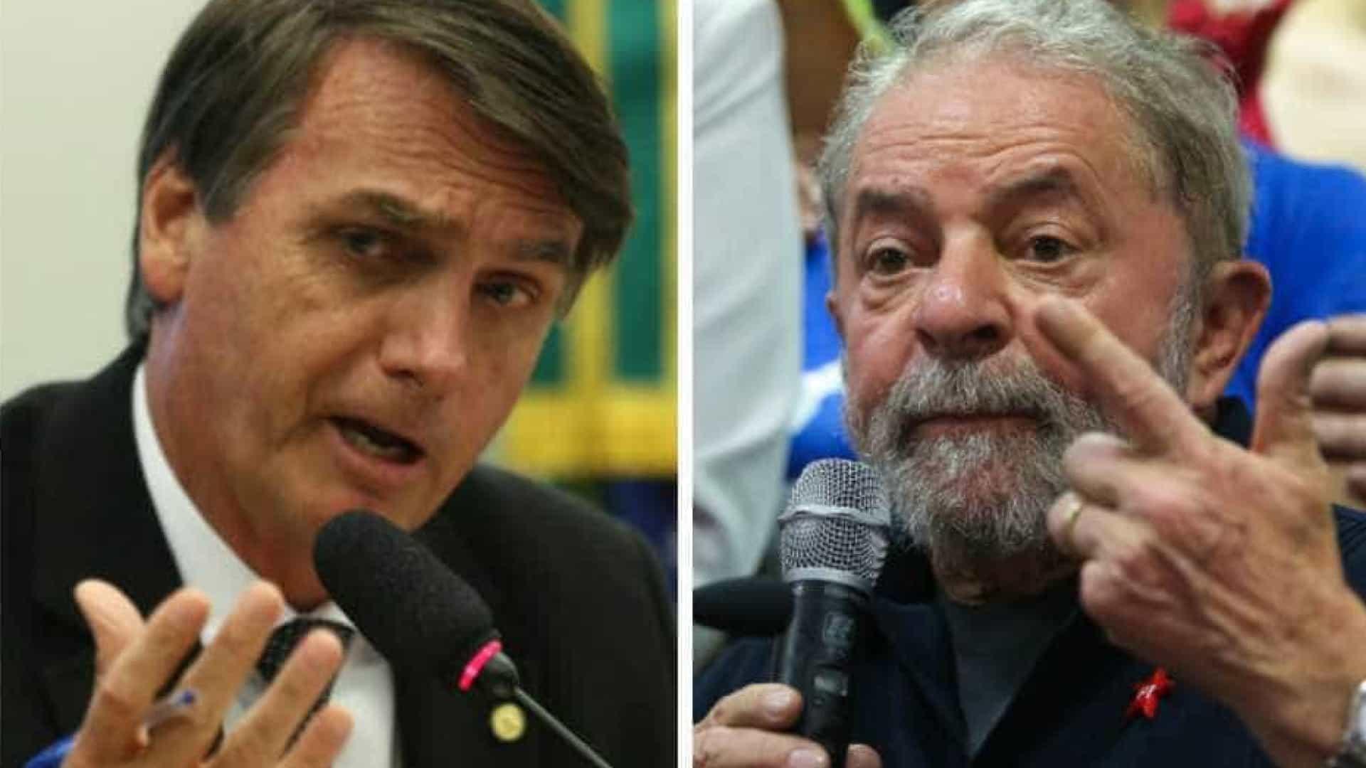 naom 58ccf2ef940de - Bolsonaro e Lula se impulsionam na briga por atenção nas redes