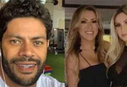 Hulk curte praia em João Pessoa e fãs suspeitam de gravidez de namorada – VEJA VÍDEO
