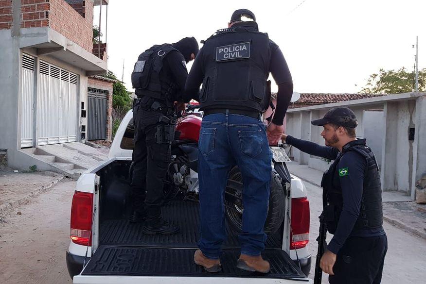operacao rabo da gata - RABO DA GATA: Operação prende oito pessoas e desarticula associação criminosa na região de Princesa Isabel