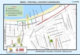 Semob-JP define plano de circulação para a Orla durante Festival Louvor e Adoração