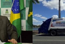 LIXO DE CAMPINA GRANDE: Empresa contratada por prefeitura é citada na Operação Calvário