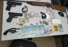 Dois homens são presos suspeitos de assaltos em Cabedelo e João Pessoa
