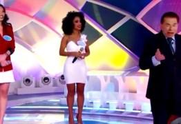 Silvio Santos se recusa a premiar candidata negra e internautas acusam racismo – VEJA VÍDEO