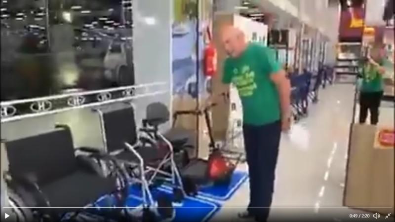 veio da havan e1576859935438 - Dono da Havan faz reclamações e debocha da obrigação de instalações para portadores de deficiência em loja - VEJA VÍDEO