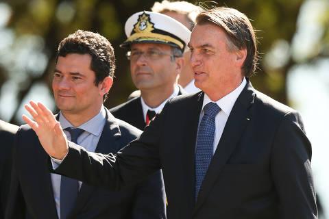 15603763235d01740354be2 1560376323 3x2 sm - Bolsonaro estuda recriar Ministério da Segurança: 'Lógico que Moro deve ser contra'