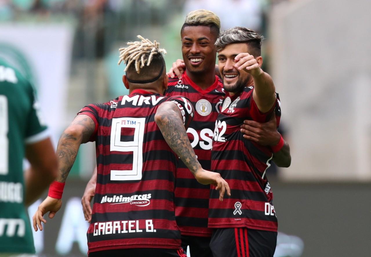 2019 12 01t191214z 1079343480 rc2jmd9uhgc5 rtrmadp 3 soccer brazil pal fla report - Flamengo trabalha para manter seus destaques de 2019