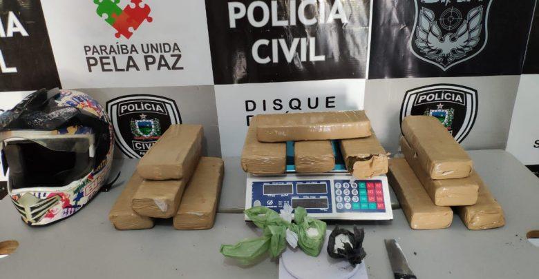 40c7fa19 4e1f 461c ba89 18c8b195711b 780x405 - Dupla é presa com 12 kg de maconha e 500 gramas de cocaína, em Campina Grande