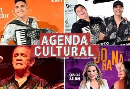 AGENDA CULTURAL: Confira as atrações que agitam o final de semana em João Pessoa