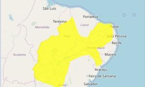 ALERTA INMET 24 01 300x180 - Inmet alerta para chuvas no Cariri, Seridó, Sertão, Agreste e Brejo da Paraíba