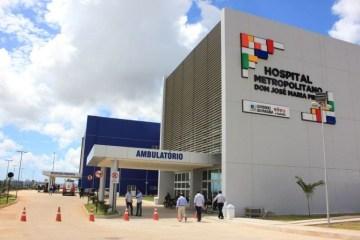 João Azevêdo anuncia Hospital de Campanha no estacionamento do Metropolitano, em Santa Rita