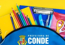 Prefeitura de Conde inicia matrículas de Escolas e CREIS na próxima segunda-feira