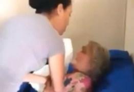 Pastora e cantora evangélica é flagrada batendo na sogra de 73 anos – VEJA VÍDEO