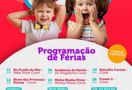 Manaíra Shopping oferece programação especial para crianças no mês de janeiro