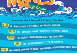 Festival 'Verão Mares de Conde 2020' apresenta música, dança e teatro na Praça do Mar em Jacumã