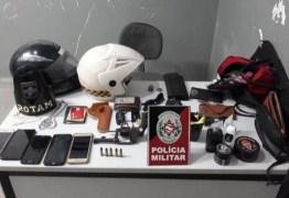 Polícia prende dupla suspeita de cometer assaltos em Campina Grande