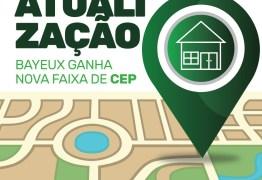 BAYEUX AVANÇA: Todos os CEPs da cidade foram atualizados no sistema dos Correios