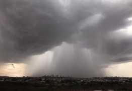 Inmet emite alerta de chuvas intensas para 100 cidades da Paraíba