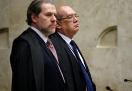 CALVÁRIO: Toffoli aponta 'perda de objeto' e extingue recurso do MPF contra liberdade de Ricardo Coutinho e de outros investigados