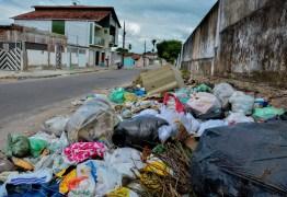 Coleta de lixo é suspensa em bairros de JP devido a problema em licitação