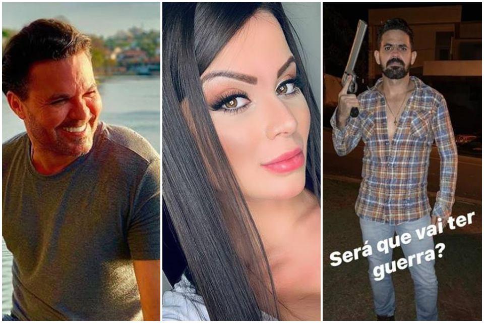eduardo costa victor weliton - Eduardo Costa revela que irmão ameaçou sua ex-namorada: 'Ele se arrependeu'
