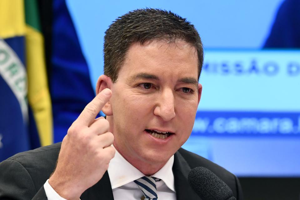 glenn - ABRAJI: denúncia do MPF contra Greenwald viola a liberdade de imprensa