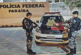 Operação prende homem apontado como chefe do tráfico e apreende 50 quilos de drogas na Paraíba