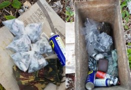 Homem é preso com papelotes de drogas e rádios comunicadores em João Pessoa