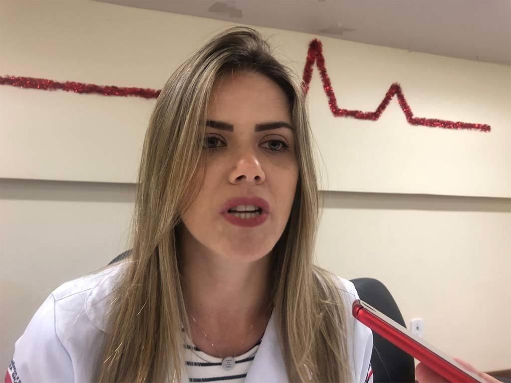 ingrid ramalho0801 - Diretora do Hospital de Trauma de Campina Grande, anuncia reformas estruturais