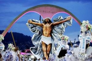 jesus carnaval 300x200 - POLÊMICA DIVINA: 'Jesus Cristo da Mangueira' agita Carnaval antes da folia começar