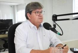 João Azevedo sobre prorrogação nos contratos com as OSs da Educação: 'Tempo para a licitação das empresas terceirizadas'
