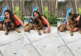 """Jovem tenta tirar foto com cão, é mordida no rosto e mostra """"resultado"""""""