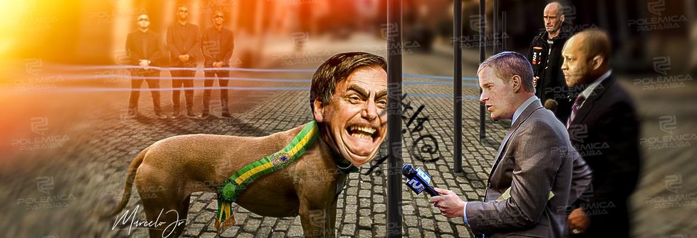 montagem685 - A enfadonha falta de educação de Bolsonaro - por Anderson Costa