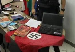 """""""LIBERDADE DE EXPRESSÃO"""": Nazista é preso por ostentar suástica na janela de casa"""