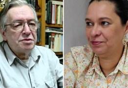 Filha de Olavo de Carvalho prepara dossiê contra o pai