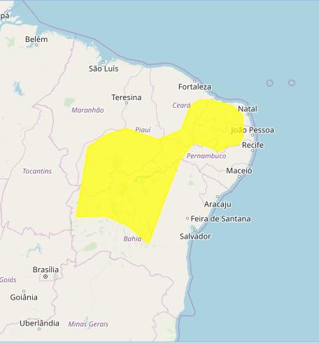 screenshot 1 - CHUVAS INTENSAS: Inmet intensifica alerta para 182 cidades da Paraíba; confira lista