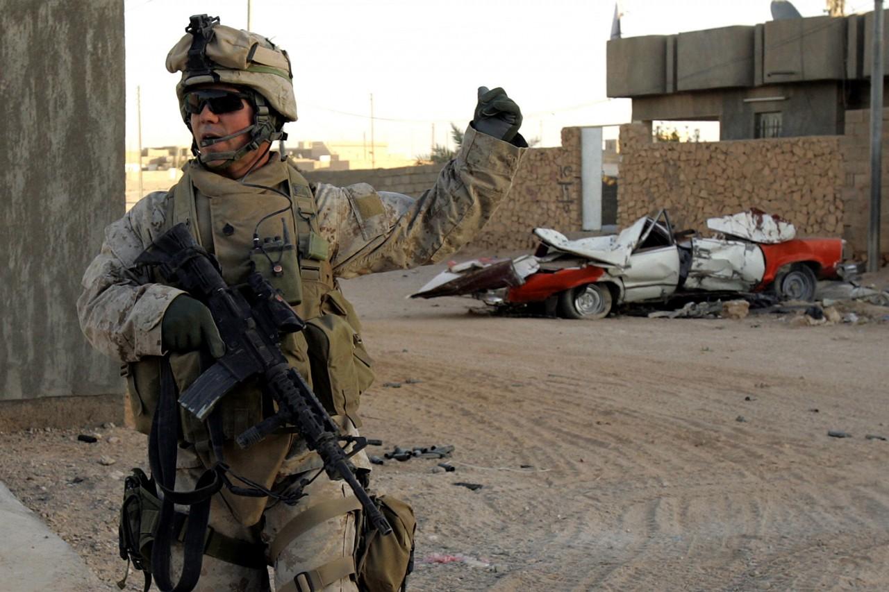 us marines sicc81ria 010 - Parlamento iraquiano aprova pedido para que militares norte-americanos deixem o país